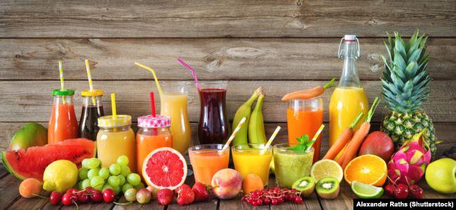 میوهها بر خلاف سبزیجات درصد قابل توجهی قند دارند و اهمیت مصرف میوهها در دریافت کامل آنها با فیبر و پالپ است.